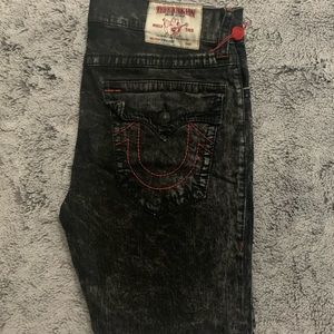 Red Stitched,Black/Gray True Religion Jeans💫Bndle